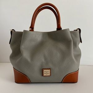 Dooney & Bourke Brenna Purse Pebble Grain Leather